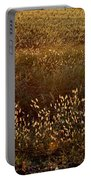 Sunrise On Wild Grass Portable Battery Charger