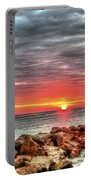 Sunrise Over Breech Inlet On Sullivan's Island Sc Portable Battery Charger