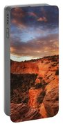 Sunrise Over Canyonlands Portable Battery Charger by Darren  White
