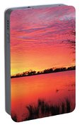 Sunrise Over Coongee Lakes Portable Battery Charger