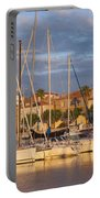 Sunrise Over La Ciotat France Portable Battery Charger