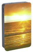 Sunrise Over The Pacific Ocean, Cabo Portable Battery Charger