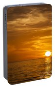 Sunrise Over The Sea Of Cortez Portable Battery Charger