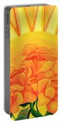 Sunrise Roses Portable Battery Charger