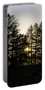 Sunrise Shines Through The Pines Portable Battery Charger
