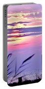 Sunrise Through The Dunes Portable Battery Charger