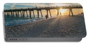 Sunset Art Portable Battery Charger