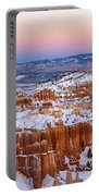 Sunset At Bryce Canyon National Park Utah Portable Battery Charger