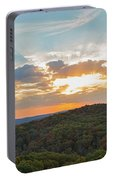 Sunset At Garden Of The Gods Portable Battery Charger