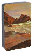 Sunset At Pfeiffer Beach Portable Battery Charger