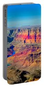 Sunset At South Rim Portable Battery Charger
