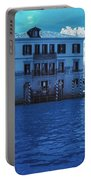 Sunset At The Hotel Canal Grande Venice Italy Near Infrared Blue Portable Battery Charger