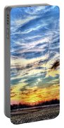 Sunset Clouds Portable Battery Charger