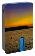 Sunset From Andersons Dock Portable Battery Charger