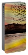 Sunset Glory Portable Battery Charger