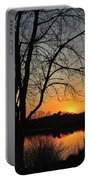 Sunset Glow Toms River New Jersey Portable Battery Charger