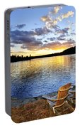 Sunset In Algonquin Park Portable Battery Charger