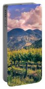 Sunset In Napa Valley Portable Battery Charger