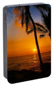 Sunset In Paradise Portable Battery Charger