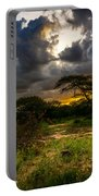 Sunset In The Bush Portable Battery Charger