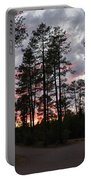 Sunset In The Pines Portable Battery Charger