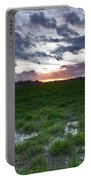 Sunset In The Swamp Portable Battery Charger