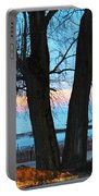 Sunset In The Trees Portable Battery Charger