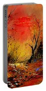 Sunset In The Wood Portable Battery Charger