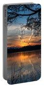 Sunset Lake Horicon Lakehurst New Jersey Portable Battery Charger