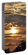 Sunset Layers Portable Battery Charger