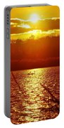 Sunset Love At Crosswinds Portable Battery Charger