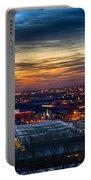 Sunset Metro Lights And Splendor Portable Battery Charger