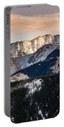 Sunset Mountains Portable Battery Charger