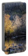 Sunset On Billy Goat Trail Portable Battery Charger