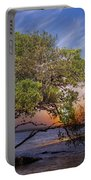 Sunset On Gandy Blvd  Portable Battery Charger