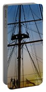 Sunset On Hms Warrior Portable Battery Charger