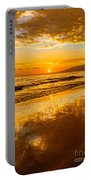 Sunset On Lahaina Portable Battery Charger