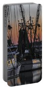 Shem Creek Sunset - Charleston Sc Portable Battery Charger
