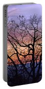 Sunset On Tanners Ridge Portable Battery Charger