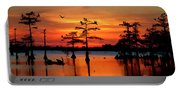 Sunset On The Bayou Portable Battery Charger