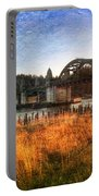 Sunset On The Siuslaw River Portable Battery Charger