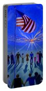 Sunset Or Sunrise Portable Battery Charger