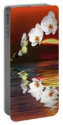Sunset Orchids Portable Battery Charger
