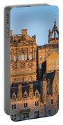 Sunset Over Edinburgh Portable Battery Charger