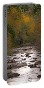Sunset Over Little River Portable Battery Charger