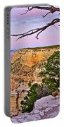 Sunset Over The Grand Canyon From South Rim Trail In Grand Canyon National Park-arizona   Portable Battery Charger