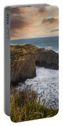 Sunset Over The Oregon Coast Portable Battery Charger