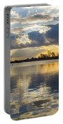 Sunset Over The Water Portable Battery Charger