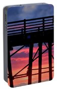 Sunset Pier Portable Battery Charger