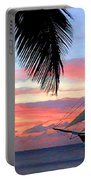 Sunset Sailboat Filtered Portable Battery Charger